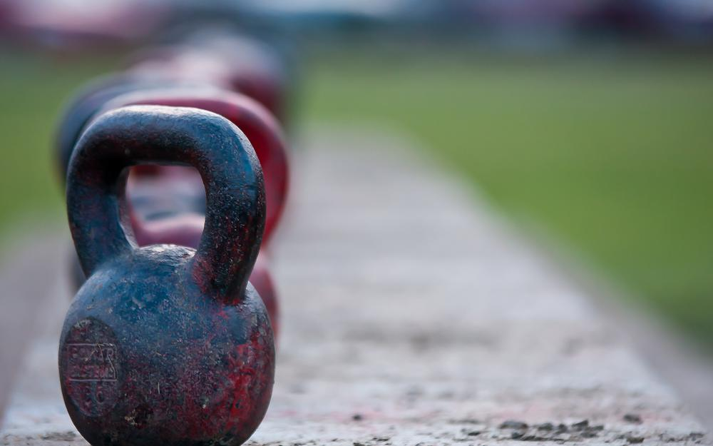 Color, metal, kettlebell