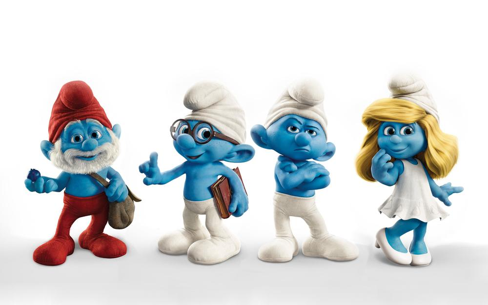 2011, movie, smurfs