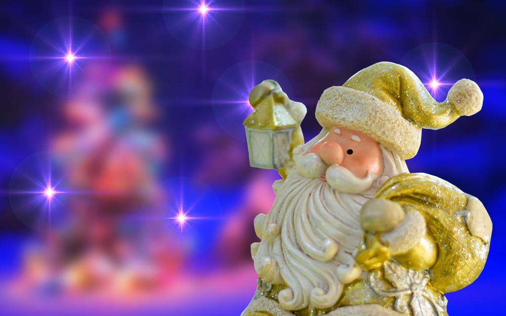 Toy, christmas, figurine, santa claus, new year