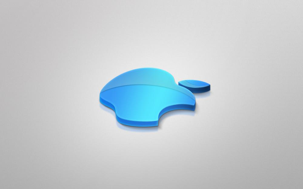 Apple, blue, incorporated