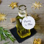 Christmas, rosemary, olive oil