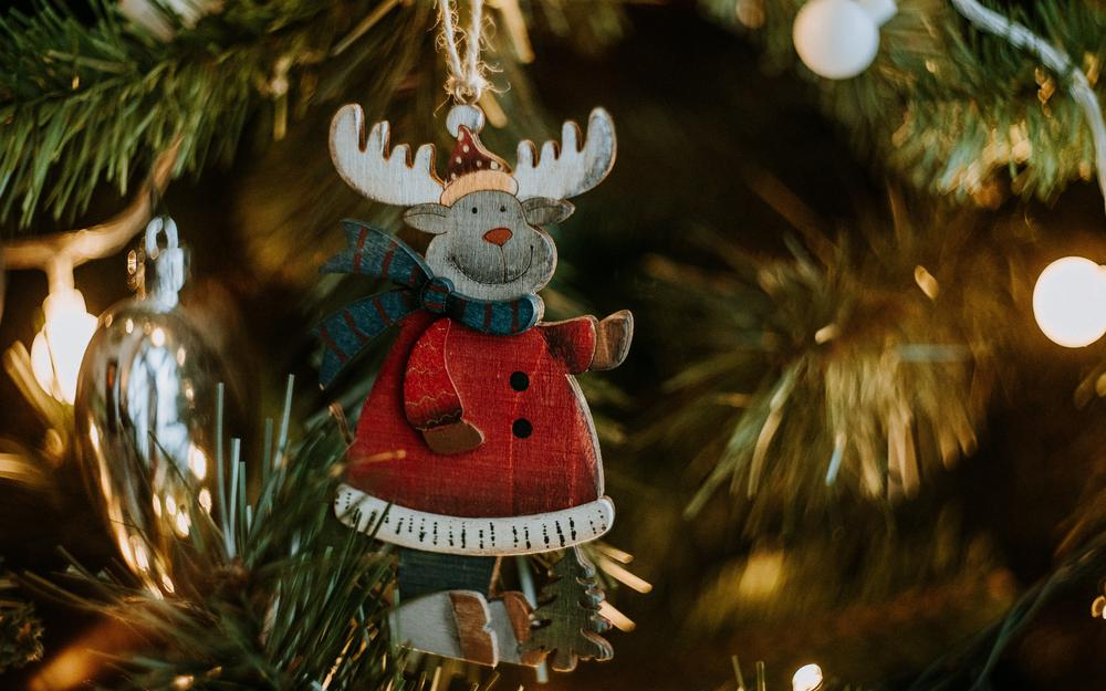 Decoration, christmas toy, deer, new year