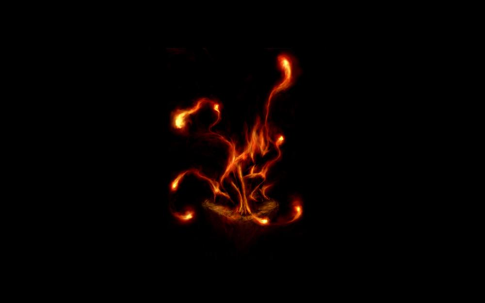 Fire, soul catcher, soul cather, tongues, red, flame