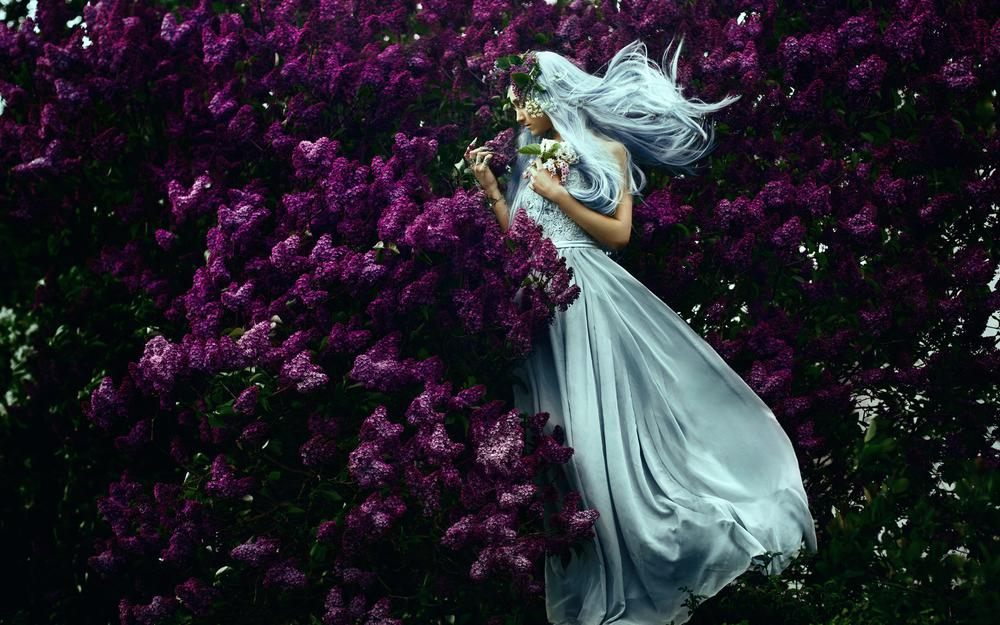 You exist in spring, dress, lilac, girl, bella kotak