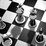 Chess, pieces, board