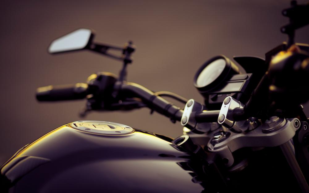 Motorcycle handlebar tank wallpaper