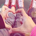 Couple, arm, heart, hand hd wallpaper