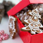 New year, christmas, gingerbread, cookies