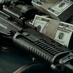 Automatic machine and money wallpaper