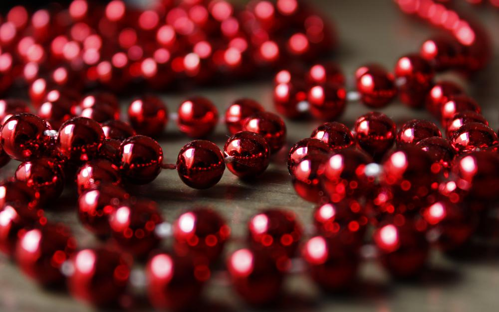 Beads, christmas, decoration