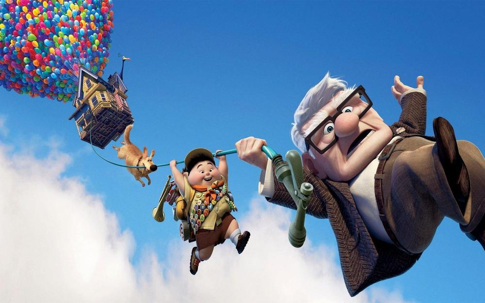 Up, animation, up