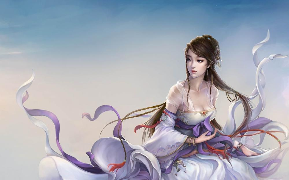 Character, wind, fantasy
