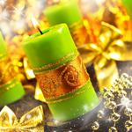 Candles new year hd wallpaper