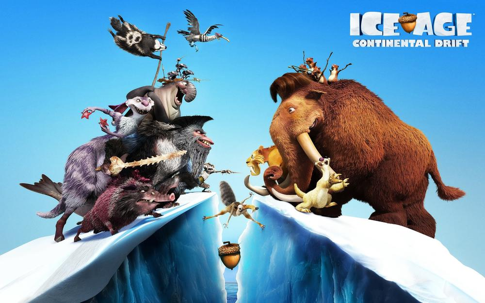 Diego, ice age 4, two commands, meni …, sid