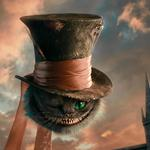 Cat, cheshire cat, alice in wonderland, cheshire, hat