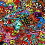 Colorful, psychedelic, artistic