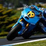Sport motorcycle blue sports motorcycle blue