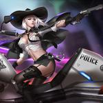 Watching pioneer sish sexy beauty police motorcycle 2k wallpaper