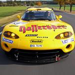 Dodge viper, yellow, sport