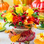 Bouquet, flowers, colorful, shades wallpaper
