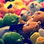 Toys, multicolored, collection wallpaper