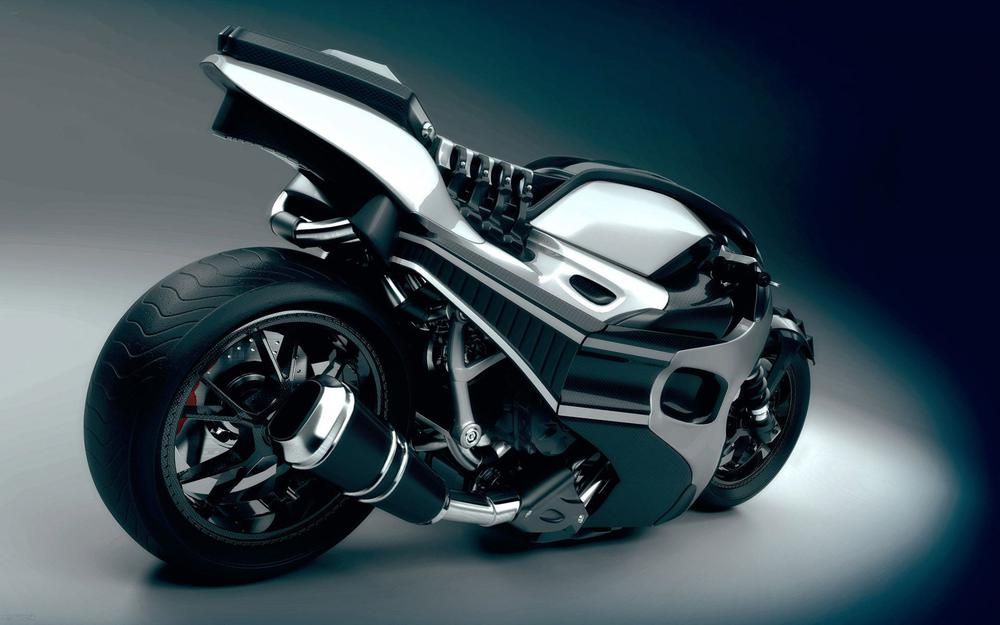 Motorcycle, speed, drive