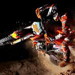 Motocross motorcycle sport