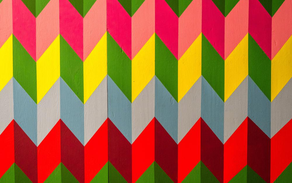 Geometric, colorful, pattern, variegated