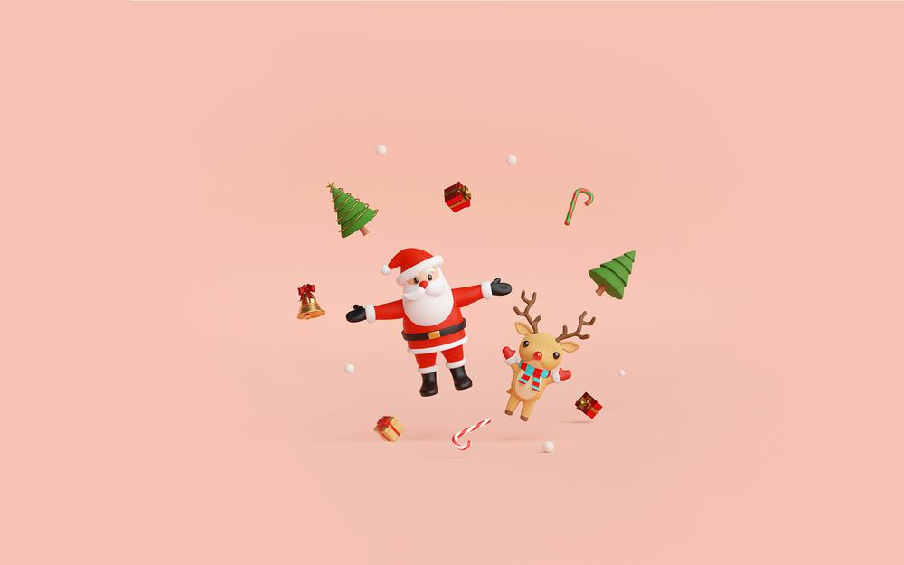 Simple christmas background wallpaper