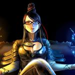 Bayonetta, butterflies, slasher