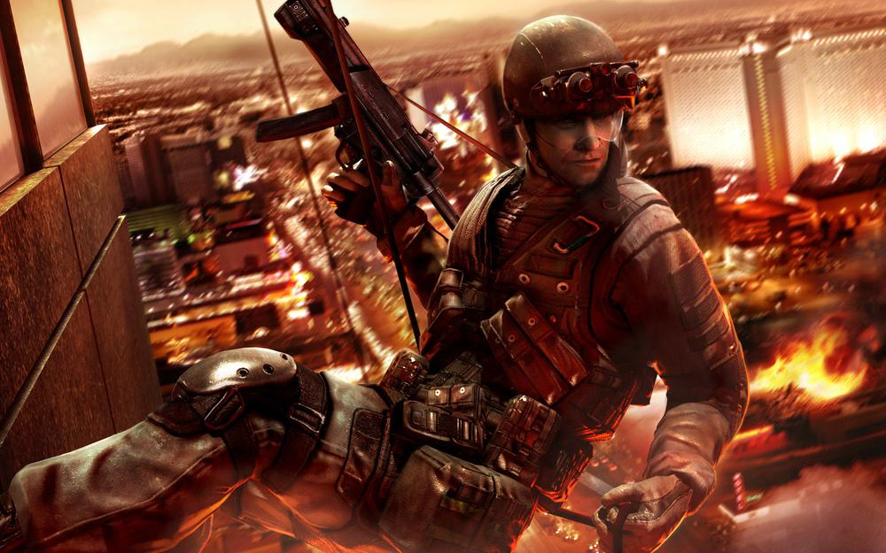 Vegas, mp5, rainbow six, special forces, fire