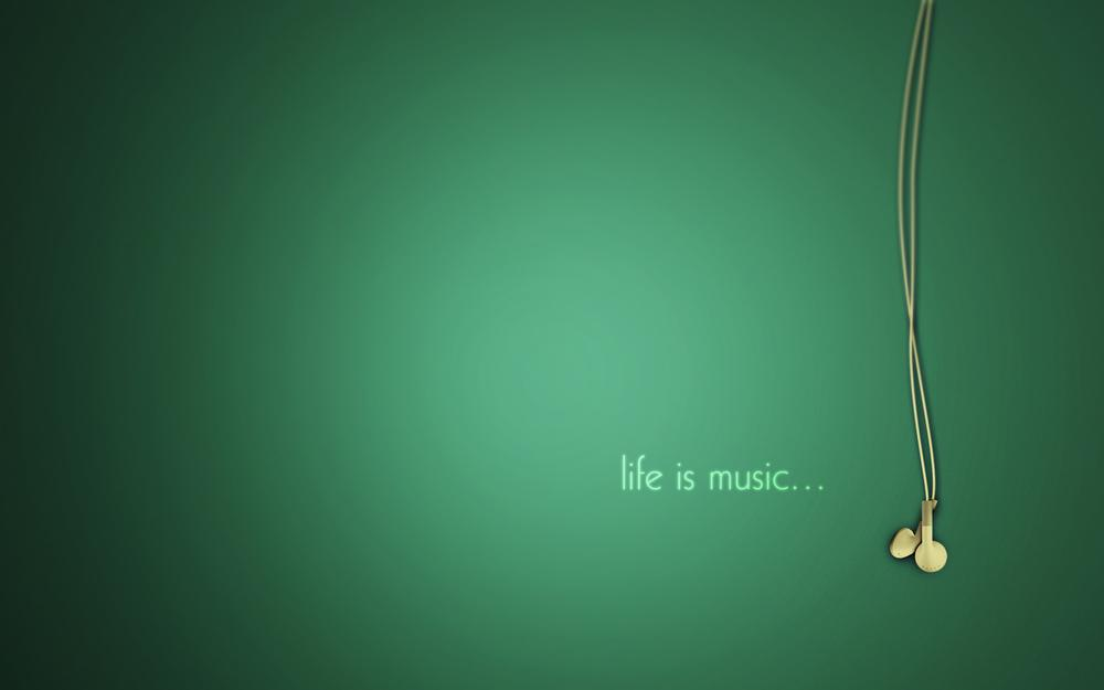 Music, headphones, life