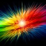 Abstraction color lines wallpaper