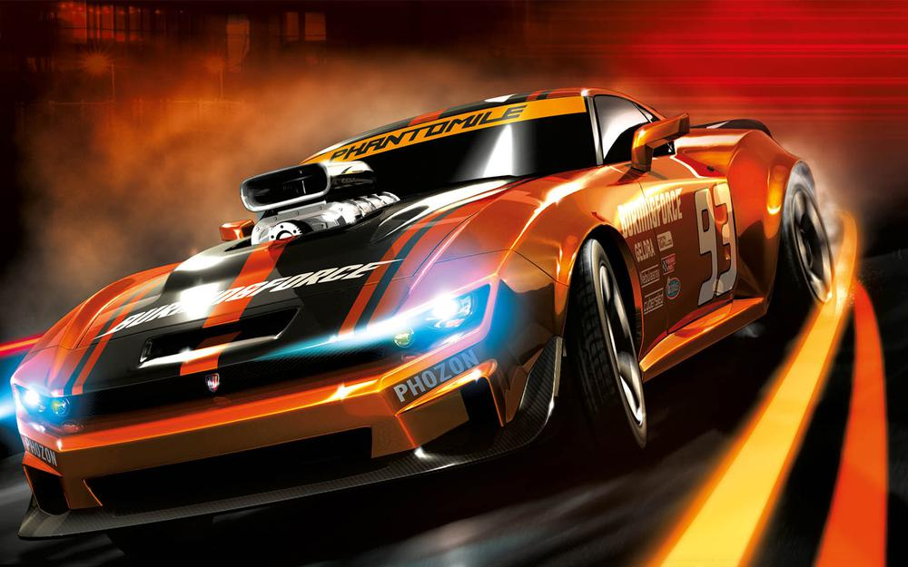 Ridge racer 3d, wheelborn, namco bandai, machine, racing, gamewallpapers