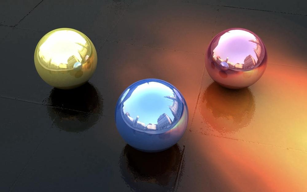 Balls, reflection, form