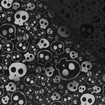 Skull, texture, background