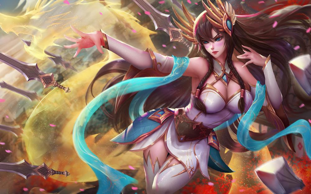 League of legends, iselia wallpapers