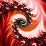 Fractal abstraction red