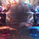 Lol league of legends evening messers and dawn messenger solaka hd wallpapers