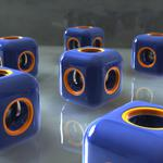 Cubes with circles