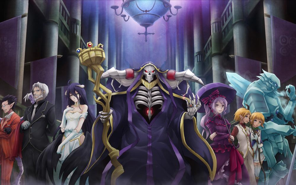 King of undead overlord characters