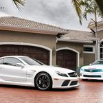Chevrolet and mercedes.