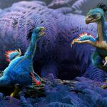 Art, beam, rendering, dinosaurs, feathers, lizards, leaves, damir martin, young, wings