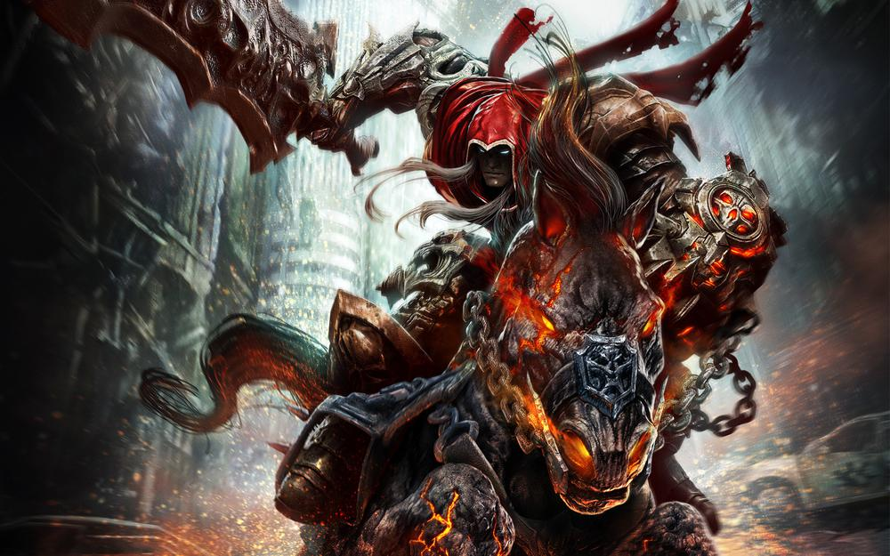 Horse, rider, demon, darksiders: wrath of war