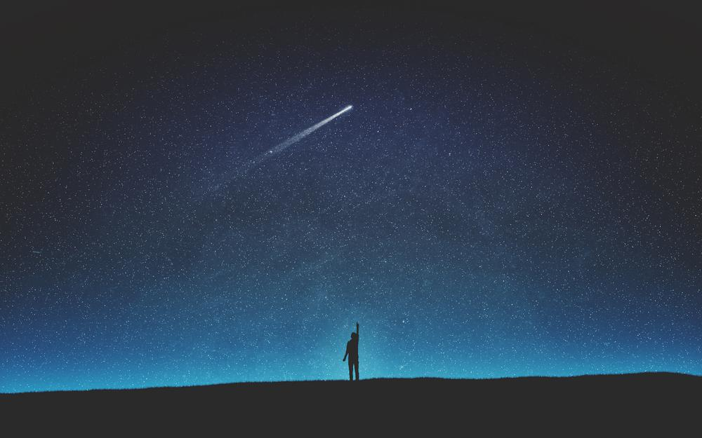 Looking up at the star empty night empty avenience 2k wallpaper