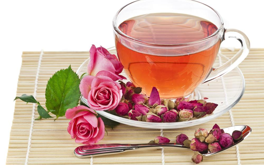 Tea from rose