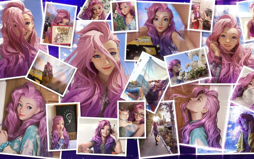 League of legends seraphine hd wallpapers