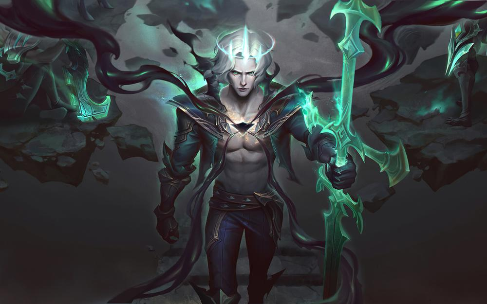 League of legends lol, the king original painting with the same person, fanguo wallpaper