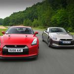 Nissan, red, cars, sports, red, race, road, machinery, road, movement, route, cars, racing, autosport, nissan, skyline, r35, gt-r, sport