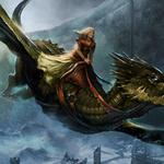 Queen alysanne, game of thrones, cold, girl, flight, dragon, a song of ice and fire roleplaying